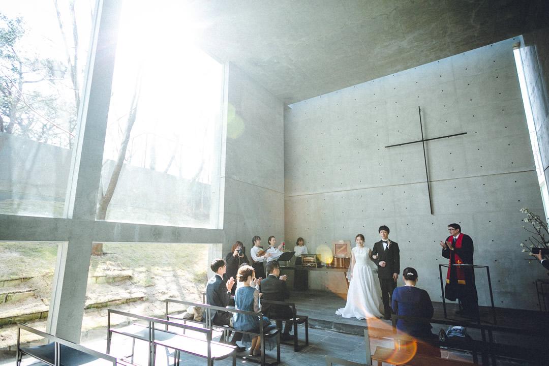 CASE 04 Sage Wedding in Rokko 風の教会